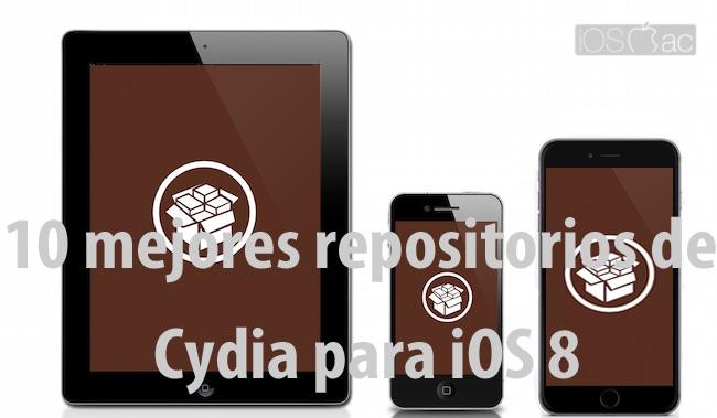 10 mejores repositorios de Cydia para iOS 8