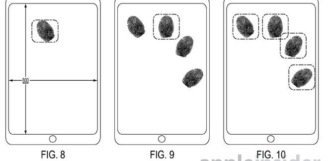 Apple pretende pasar del Touch ID al reconocimiento dactilar en toda la pantalla