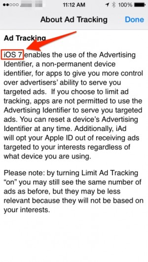 About Ad tracking