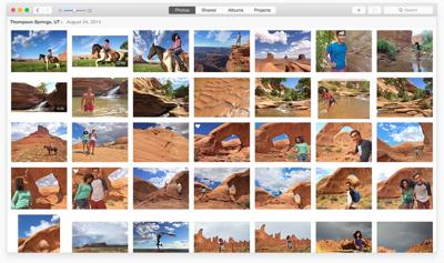 Fotos para Mac. Imagen vía www.macrumors.com
