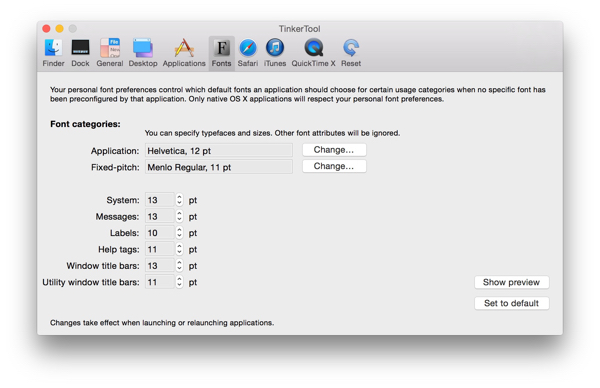 TinkerTool, How to customize your Mac settings / Cómo personalizar las preferencias de tu Mac