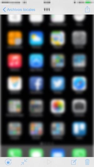 Crea el efecto 'Glow' en la pantalla de inicio del iPhone