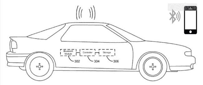 Apple patenta un nuevo sistema de apertura para el coche