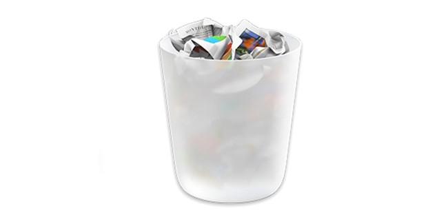 Vaciar la papelera de forma segura en Mac