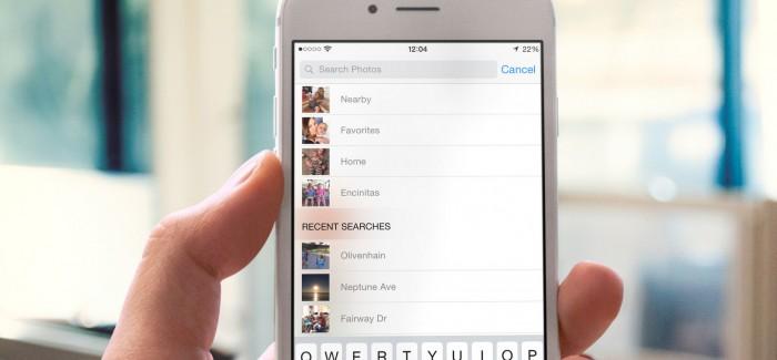 Cómo utilizar la opción de búsqueda en la aplicación de fotos