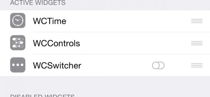 WidgetCenter: Nuevo Tweak que nos trae widgets a la vista Reachability