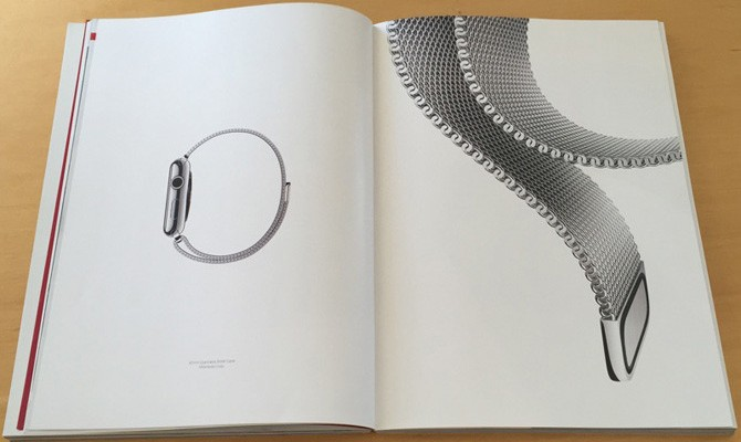 Un anuncio del Apple Watch aparece en la revista Vogue