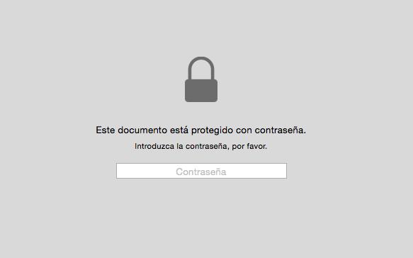 Cómo quitar la contraseña de un PDF con Vista Previa