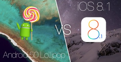 iOS 8 frente a Lollipop, Apple bana la batalla