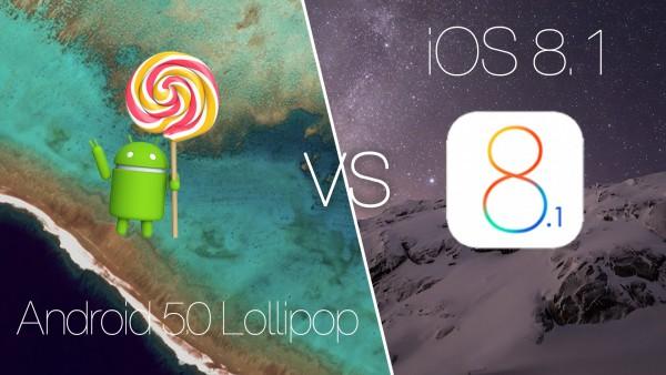 iOS 8 frente a Lollipop, Apple bana la batalla