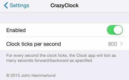 CrazyClock: tweak para ajustar el icono del reloj en la pantalla de inicio