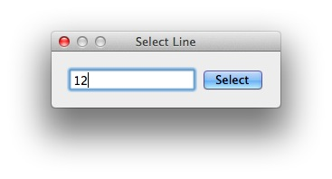 select-line-number-text-edit-mac