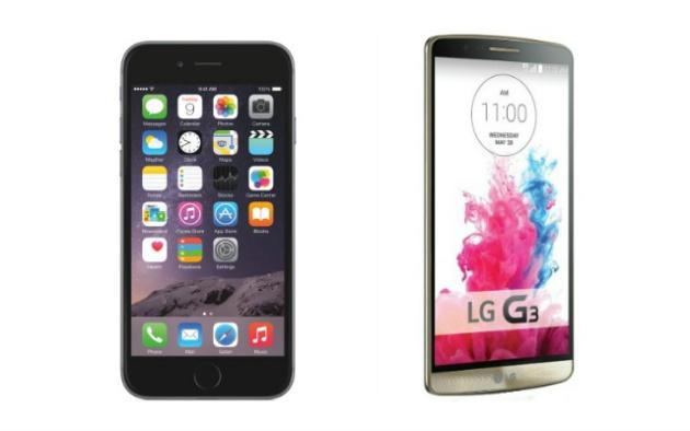 iPhone 6 y LG G3, mejores smartphones del año