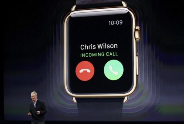Apple Watch llamadas