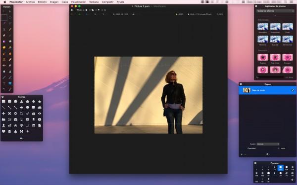 """Cómo crear el """"look"""" de película de cine en tus fotografías con Pixelmator"""