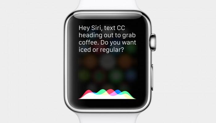 Las respuesta de Siri sobre el Apple Watch