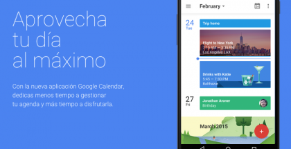 Google Calendar para iOS ya disponible