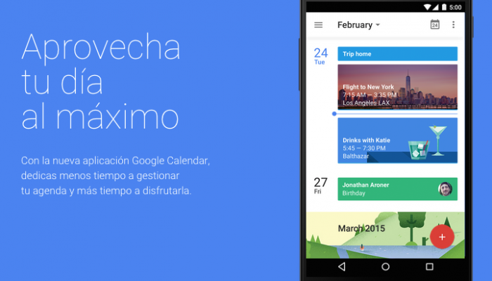 Google Calendar para iOS disponible App Store
