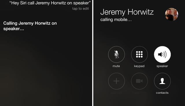 """""""Hey Siri"""" permite activar el altavoz automáticamente en iOS 8.3"""