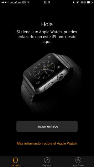 App Apple Watch