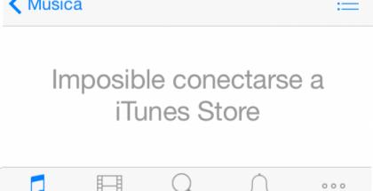 Problemas con iTunes