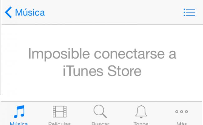 iTunes y App Store vuelven a estar disponibles