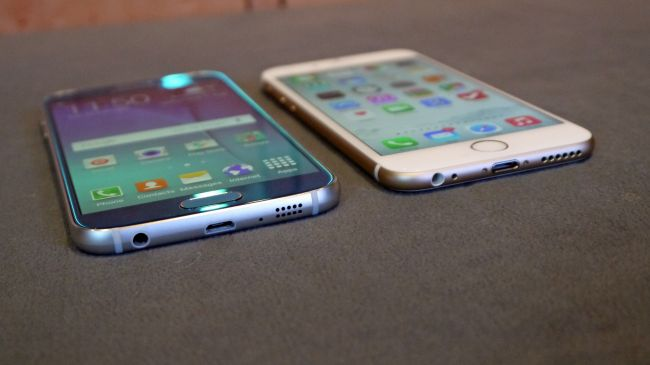 iPhone 6 comparativa del Galaxy S6
