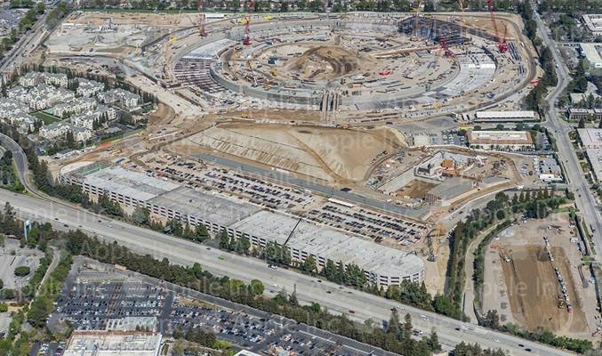 Apple comparte nuevas fotos de la construcción del Apple Campus 2