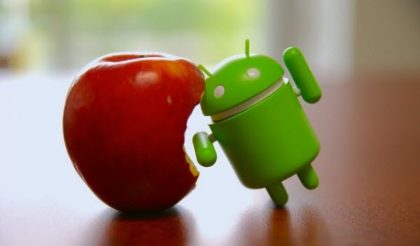 Los dispositivos Android envían casi 10 veces más datos que los dispositivos de Apple