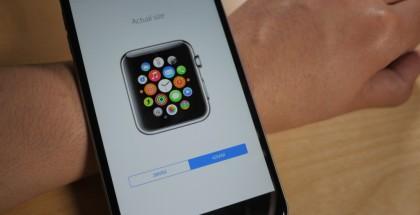 Tamaño Apple Watch