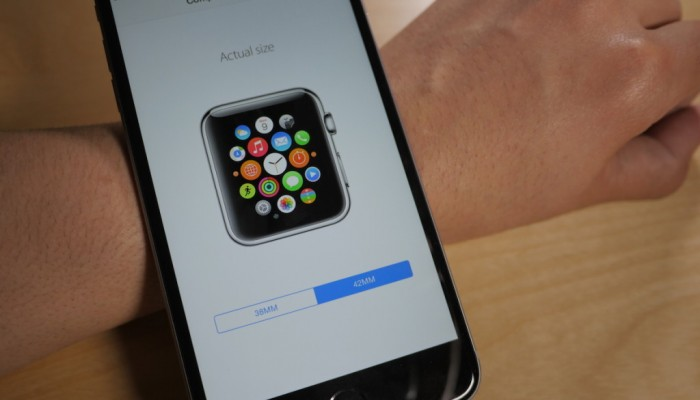 Apple nos ayuda con su app a elegir tamaño de Apple Watch