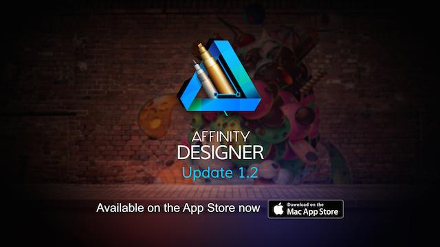 Affinity Designer se actualiza a la versión 1.2