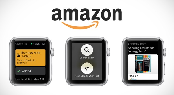 Amazon ya tiene su app para el Apple Watch