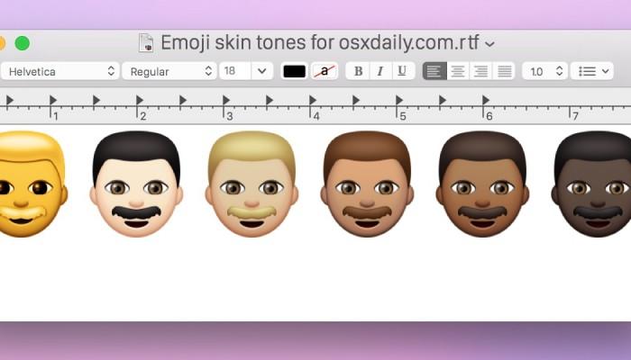 Cómo acceder y usar los nuevos Emoji en Mac