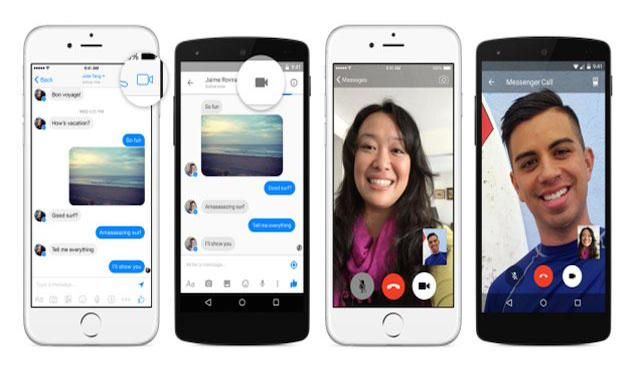 Facebook Messenger para iOS se actualiza y llegan con video llamadas