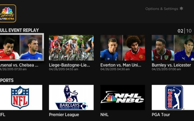 Apple añade NBC Sports Live Extra a Apple TV