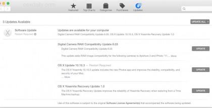 os x 10.10.3 actualización