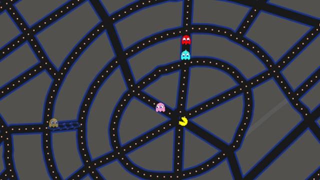 Pac-Man llega a Google Maps