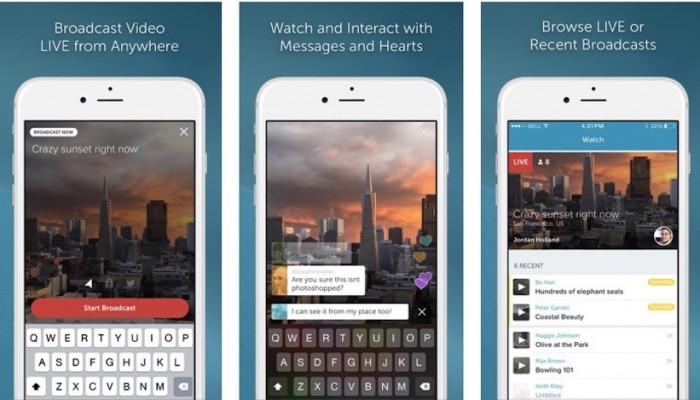 Periscope cautivó 1 millón de usuarios en sus primeros 10 días