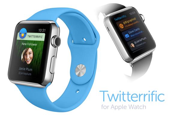Así será Twitterrific en el Apple Watch