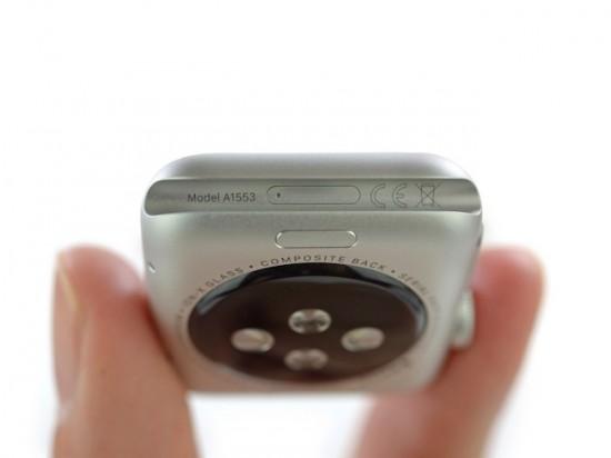 iFixit nos muestra el interior del Apple Watch 38mm