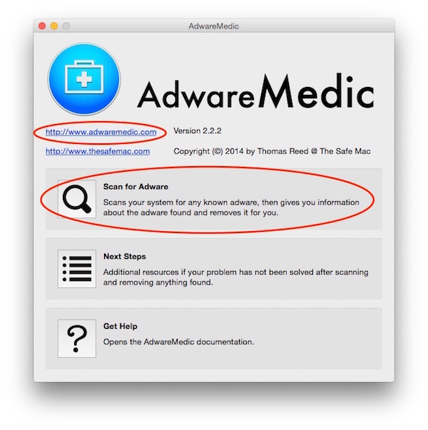 Download for free (or donate) and scan your Mac