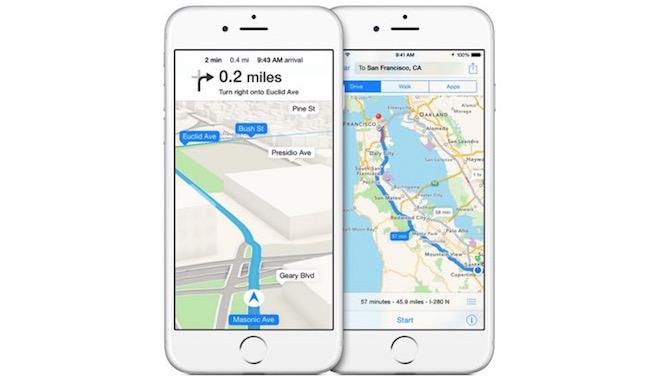 Apple renueva su alianza con TomTom