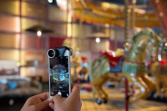 Lente Olloclip 4-en-1 para el iPhone 6