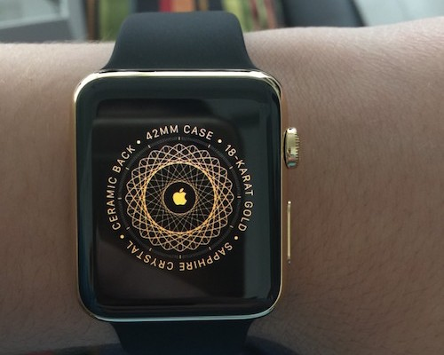 Unboxing del Apple Watch Edition