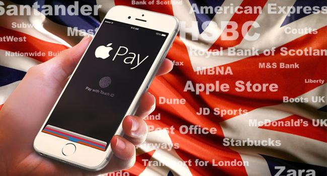 Apple Pay llega al Reino Unido