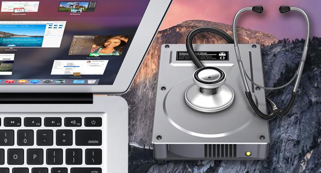 Reparar errores de disco con Recuperación de OS X