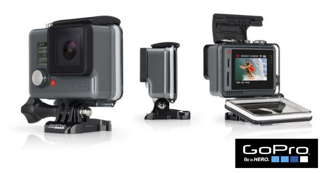 GoPro presenta la cámara Hero+ con pantalla LCD integrada