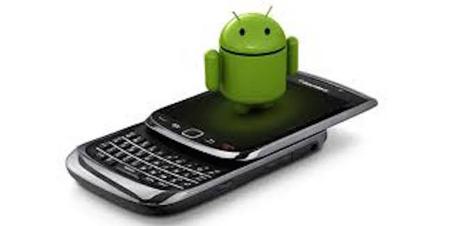 Blackberry con Android 1