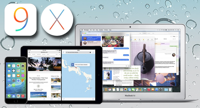 Mac OSX 10.11 El Capitán y iOS9... nuevos tiempos